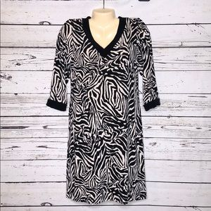 Travelers by Chico's 0 S 4 Animal Printed Dress